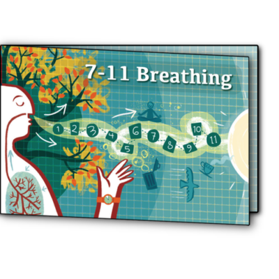 7-11 breathing card