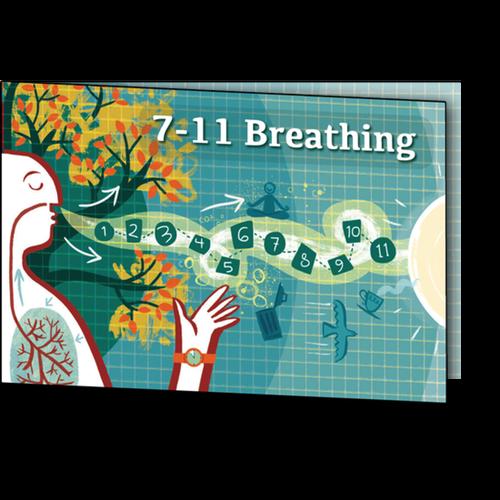 7-11 breathing card