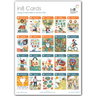 in8 Cards – A3 Poster