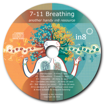 7-11 Breathing Audio CD