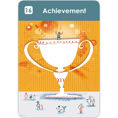 What gives you a sense of Achievement?